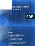 Stock Exchanges in North America 1