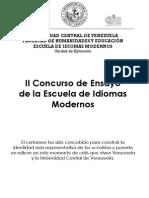 Bases Del II Concurso de Ensayo de La EIM (2014) (1)