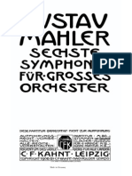 Mahler - Symphony No.6 mvt. I