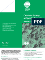 041. Safety at Sports Grounds Summary