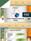 Tema 6. Auditoria Interna de Calidad