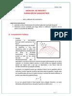 Medición de Presión y Calibración de Manómetros