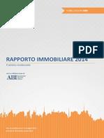Rapporto Immobiliare 2014 OMI Agenzia Entrate