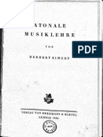 Herbert Eimert - Atonale Musiklehre