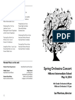 Spring 2014 4th Grade Strings and Hillcrest Orchestra Concert