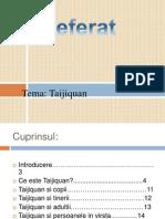 Referat Pe Tema Taijiquan
