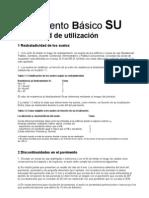 Documento Básico SU - Seguridad de utilizacion