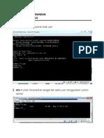 Perintah Dasar pada Sistem Operasi Linux