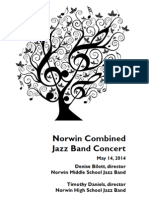 Norwin HS MS Jazz Concert 2014-05-14