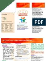 SmartEdge Consulting Isms La Brochure