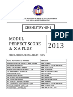 Chemistry Perfect Score & x a Plus Module 2013 28 Sept 2013