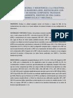 Calidad Marginal y Resistencia a La Fractura en Molares Mandibulare Restaurados Con Overlay de Resina Compuesta y Tratados Endodonticamente