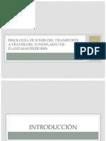 Fisiología de Iones Del Transporte