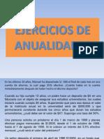 4.1 Ejercicios Anualidades