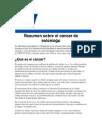 Resumen de Cancer de Estomago