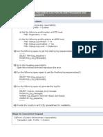 R12 Online Debug Steps