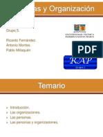 Presentación Personas y Organización