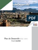 2012 2016 Bogota Humana Plan Acuerdo489 2012