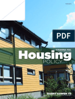 FF National Housing Policy 2014