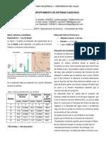 Informe - Comportamiento de Los Sistemas Gaseosos