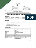 5745 - In-can Preservative
