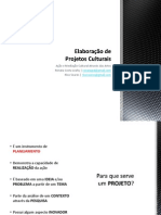 Elaboração de Projetos-Renata