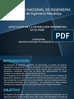 Aplicacion de La Generación Distribuida - Ing. Ñaupari