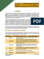 Legislative Acts - MFMA - Circular 10 - Budget Process 200506