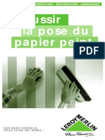 La Pose Du Papier-peint