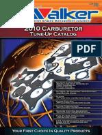 Walker Carburetion Tune Up Catalog 2010