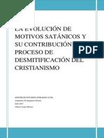 La Evolución de Motivos Satánicos y Su Contribución Al Proceso Desmitificador Del Cristianismo
