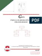 Guia Organigramas 2009
