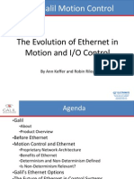 Galil Presentation - The Evolution of Ethernet in Motion and I/O Control Webinar