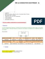C3 Comprendre la conduction électrique