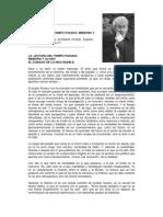 Paul Ricoeur La Lectura Del Tiempo Pasado Memoria y Olvido