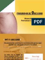 PROGRAMA DE OBESIDAD