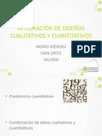 Integracion de Diseños Cuali- Cuantitativos