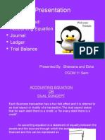 Journal, Ledger, Trial Balance Ppt