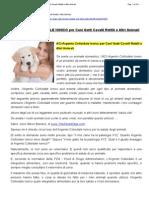 31 - ACI - Argento Colloidale Ionico Per Cani - Gatti - Cavalli - Rettili e Altri Animali