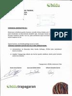 Jai batzordea. Que se forme la comisión de fiestas. 2014-05-14