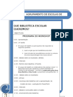 Folheto Do Workshop