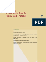 Economic Growth.history and Prospect