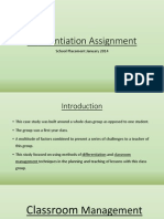 differentiation assignment