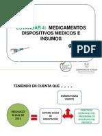 4 Medicamentos y Dispositivos Medicos