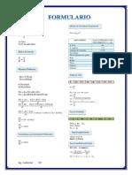 Formulario ECOLOGIA
