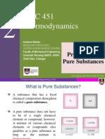 Chap2 Properties of Pure Substances