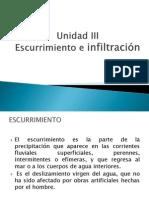 Presentacion Unidad III (1) Hidrologia Superficial (1)