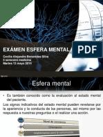 Examen de Esfera Mental