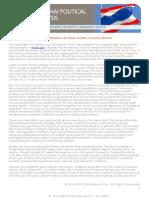 2014 Thai Political Analysis