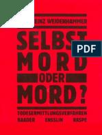 Karl-Heinz Weidenhammer - Selbstmord oder Mord